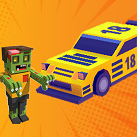 Drift xe đâm zombie