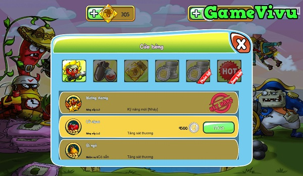 game Hoa quả đại chiến 2 hình ảnh 2