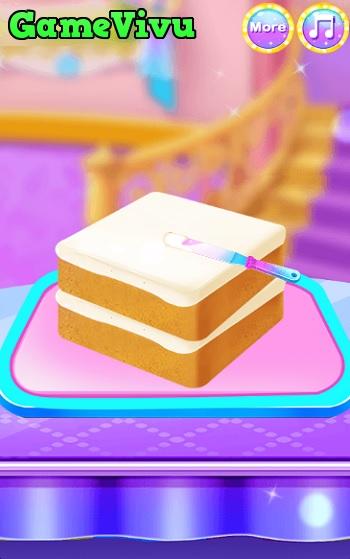 game Làm bánh hộp trang điểm hình ảnh 1