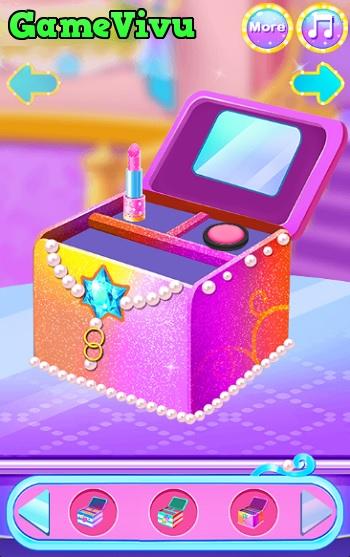 game Làm bánh hộp trang điểm hình ảnh 3