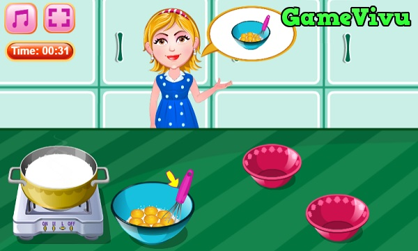 game Làm kem thuyền chuối hình ảnh 1