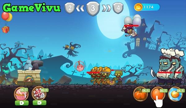 game Totoro diệt zombie hình ảnh 1