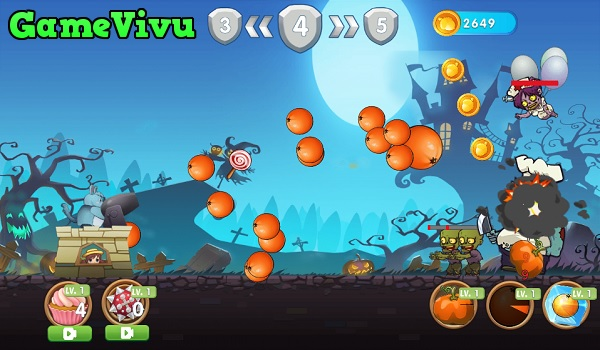 game Totoro diệt zombie hình ảnh 2
