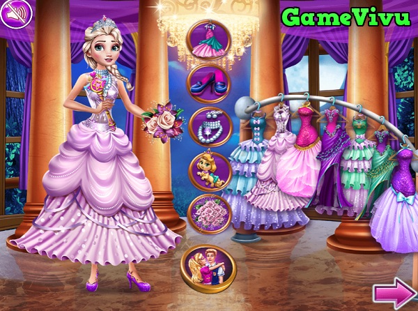game Đám cưới công chúa Disney hình ảnh 1