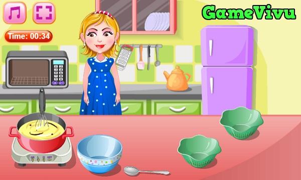 game Hazel làm kem hình ảnh 1