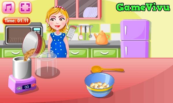 game Hazel làm kem hình ảnh 2