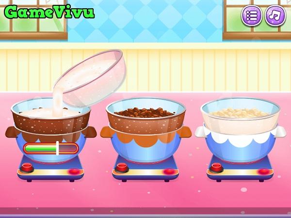 game Làm bánh mousse socola hình ảnh 2