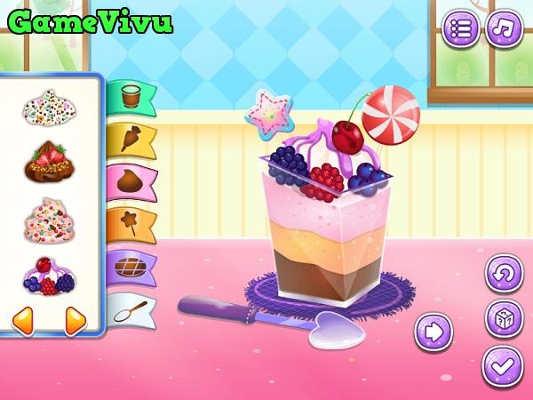 game Làm bánh mousse socola hình ảnh 3