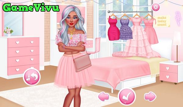 game Thời trang màu hồng hình ảnh 2