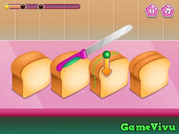 game Bánh mì nướng phô mai hình ảnh 2