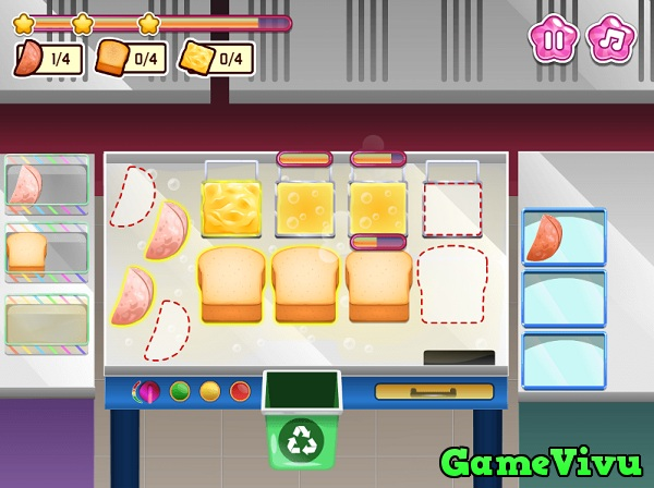 game Bánh mì nướng phô mai hình ảnh 3