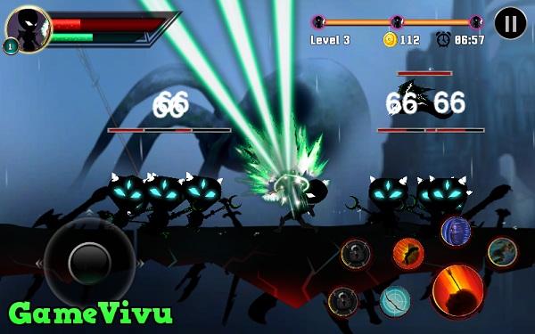 game Chiến binh bóng tối stickman legends shadow of war fighting