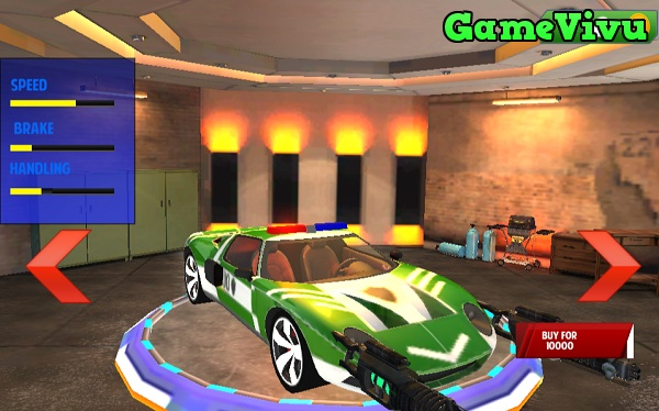 game Đua xe cảnh sát bắn súng hình ảnh 2