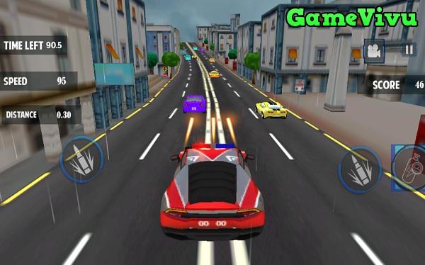 game Đua xe cảnh sát bắn súng hình ảnh 3