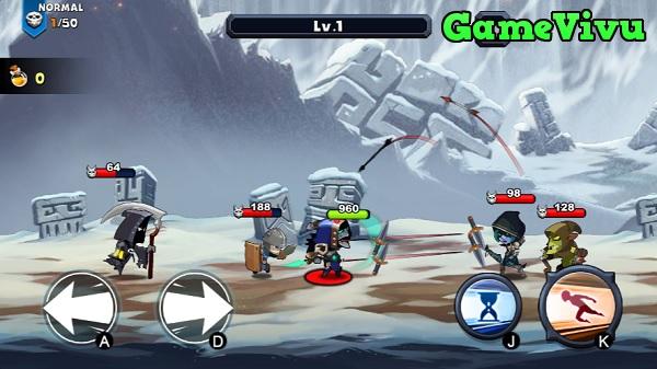 game Chiến binh diệt quỷ hình ảnh 1