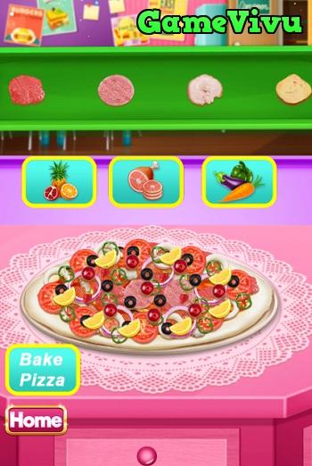 game Làm bánh pizza đẹp hình ảnh 3