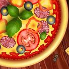 Làm bánh pizza đẹp