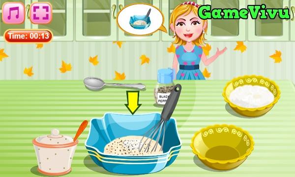 game Làm gà chiên xù hình ảnh 2