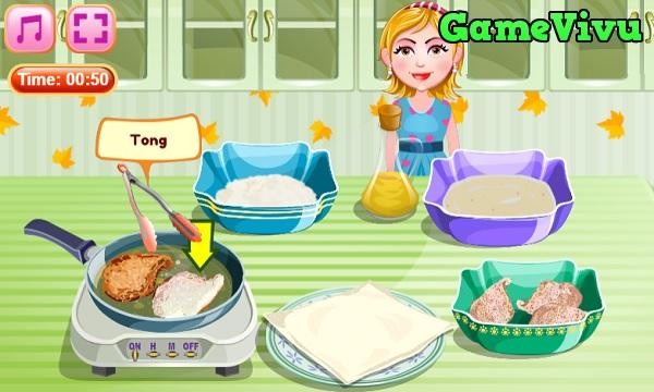 game Làm gà chiên xù hình ảnh 3