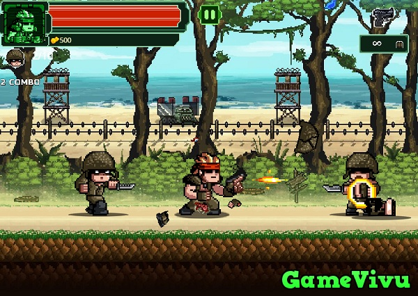 game Rambo lùn hình ảnh 1