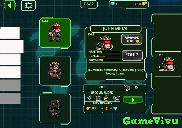 game Rambo lùn hình ảnh 2