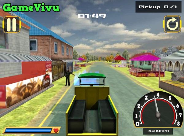 game Taxi 3 bánh hình ảnh 1