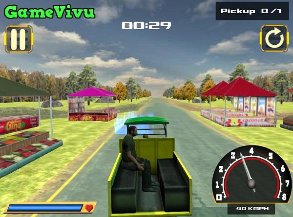 game Taxi 3 bánh hình ảnh 2