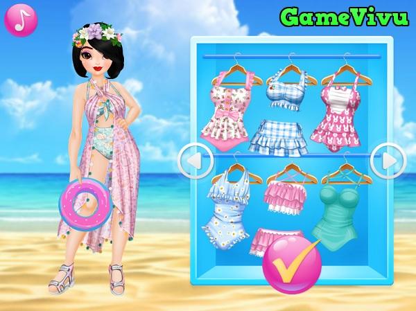 game Thời trang tắm biển hình ảnh 2