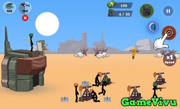 game Chiến tranh thế giới người que hình ảnh 1