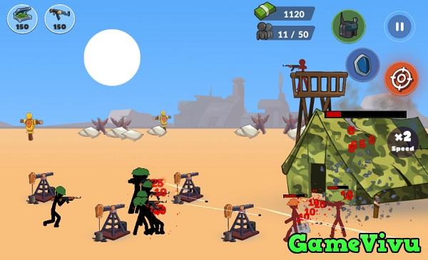 game Chiến tranh thế giới người que hình ảnh 2