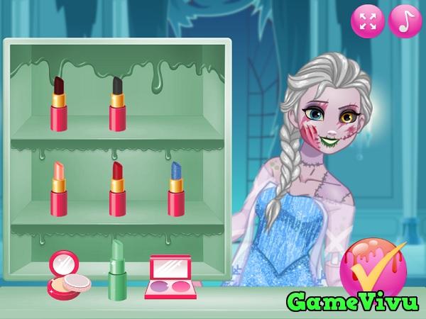 game Công chúa hóa zombie hình ảnh 1