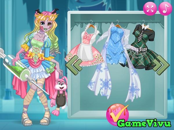 game Công chúa hóa zombie hình ảnh 2