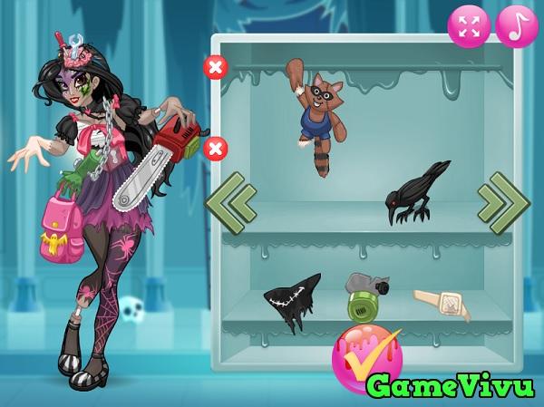 game Công chúa hóa zombie hình ảnh 3