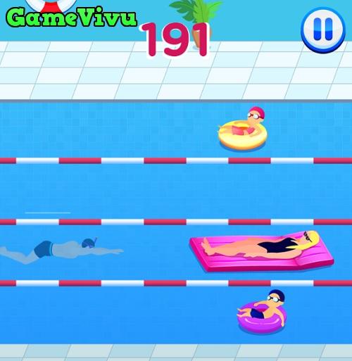 game Siêu sao bơi lội swimming hero