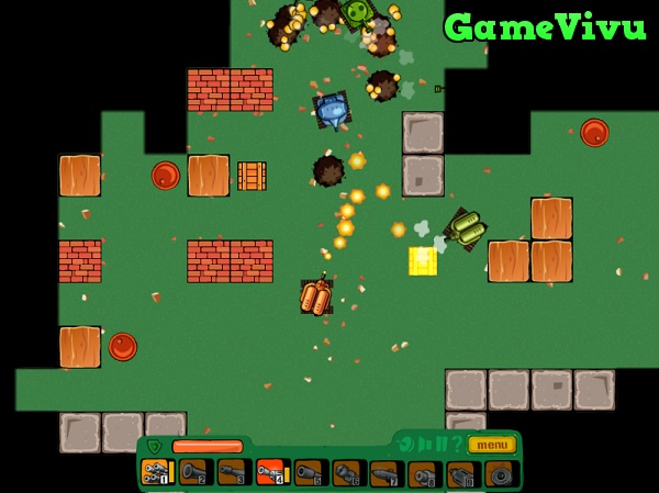 game Siêu xe tăng đại chiến hình ảnh 3