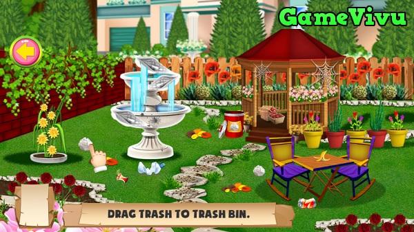 game Thiết kế khu vườn hình ảnh 1