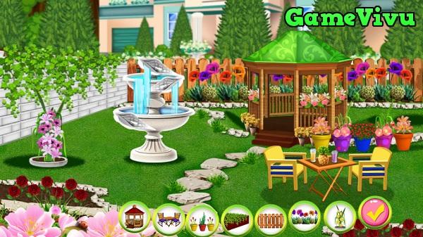 game Thiết kế khu vườn hình ảnh 2