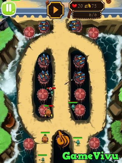 game Thủy quái tấn công hình ảnh 3