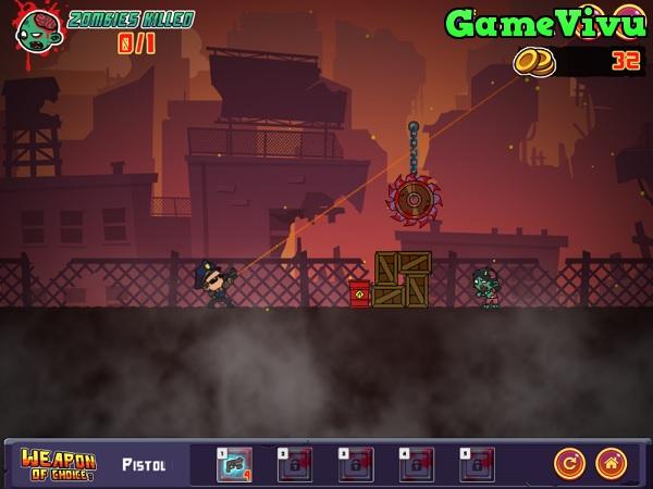 game Điệp viên bắn zombie 2 hình ảnh 1
