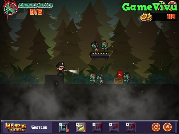 game Điệp viên bắn zombie 2 hình ảnh 2