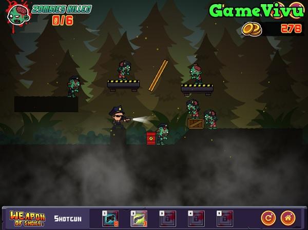 game Điệp viên bắn zombie 2 hình ảnh 3