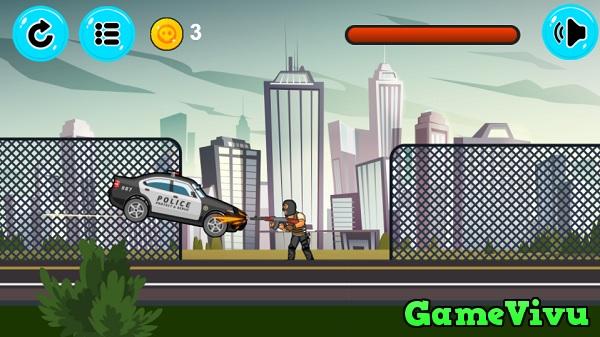 game Lái xe diệt khủng bố hình ảnh 1