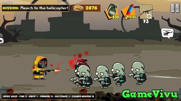 game Thợ săn zombie 2 hình ảnh 1